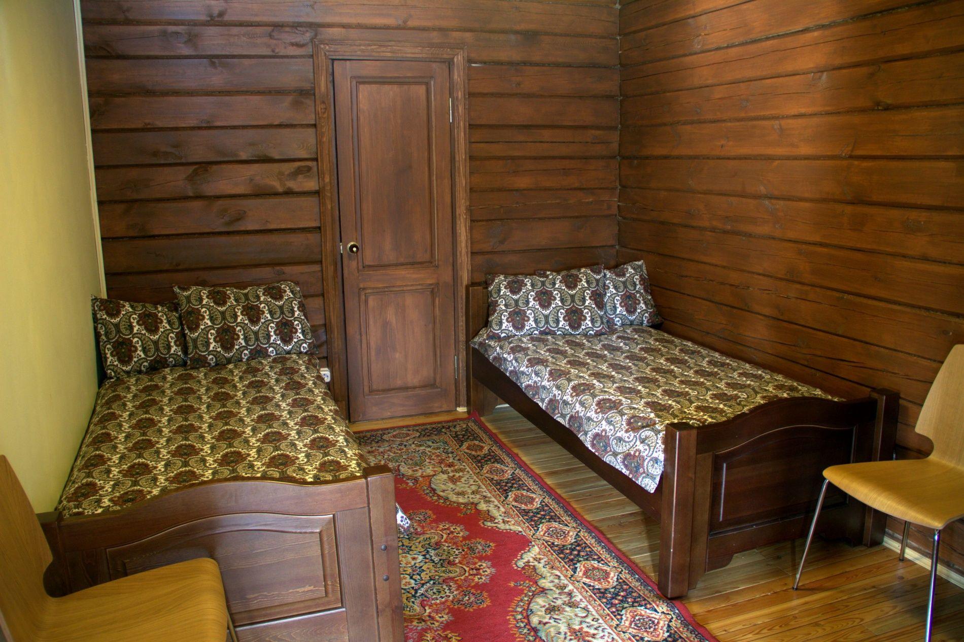 База отдыха «Кругобайкальская» Иркутская область Улучшенный 2-местный номер, фото 7