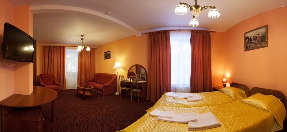 Отель «Домик Охотника» Ленинградская область Апартаменты 1-комнатные, фото 1