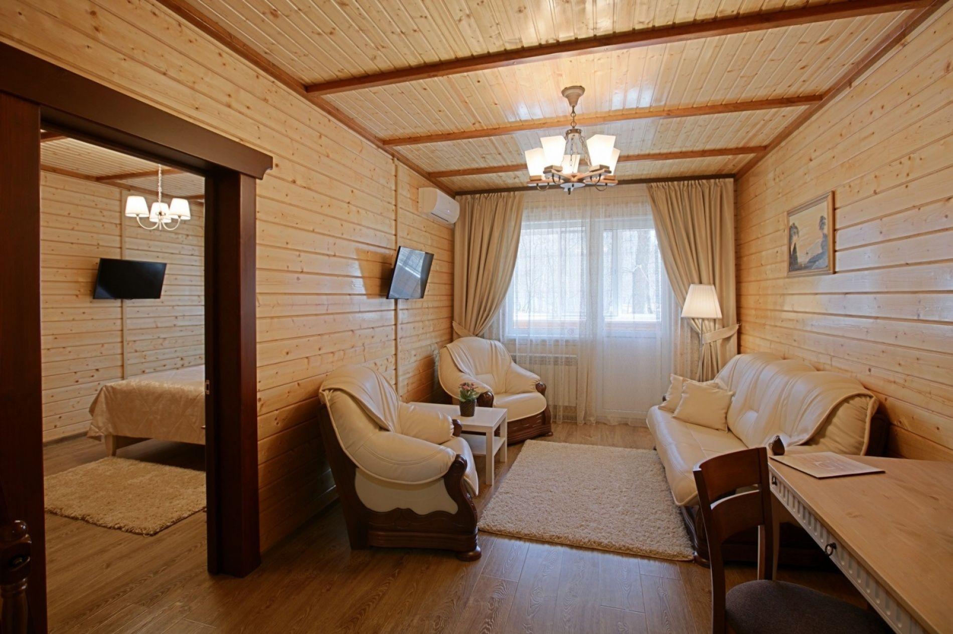 Парк-отель «ТайGA» Воронежская область Номер «Люкс» повышенной комфортности, фото 3