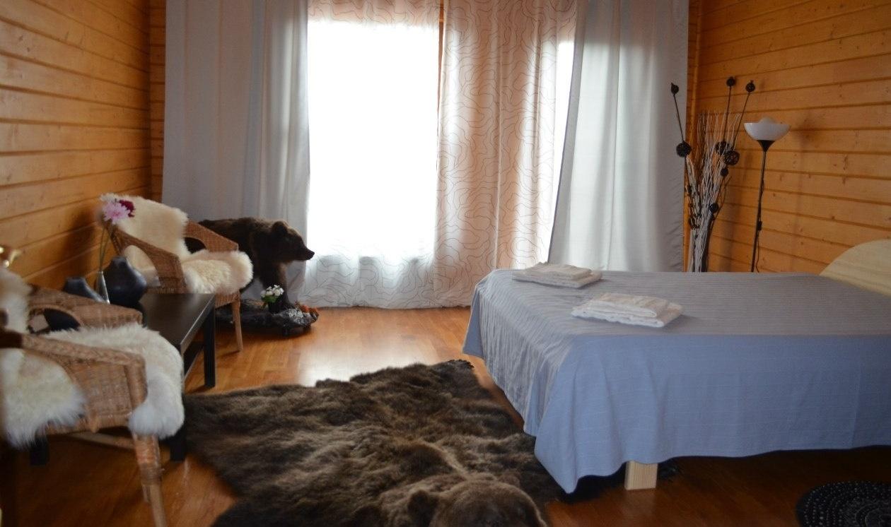 База отдыха «Белый лебедь» Новосибирская область Номер в доме «Морской» / «Охотничий», фото 1