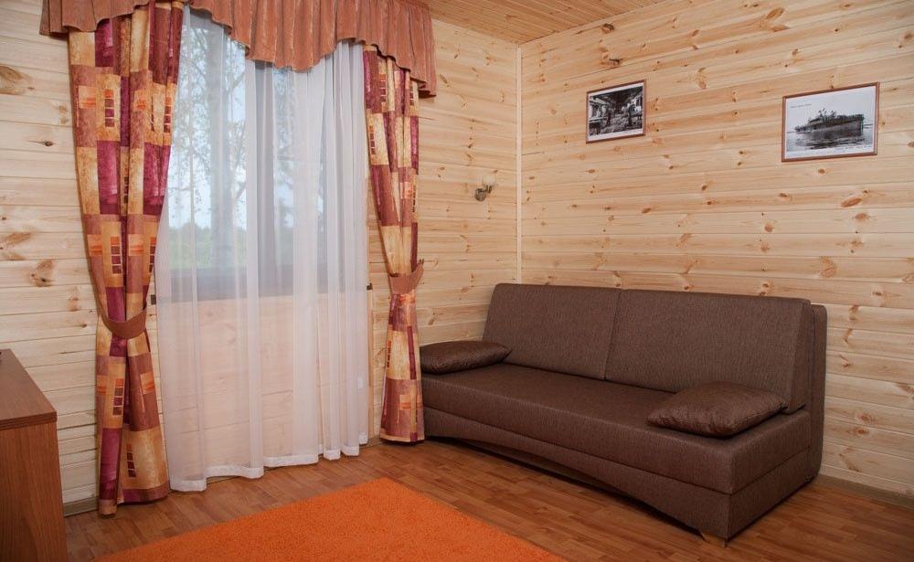Загородный отель «Река Чаек» Нижегородская область Номер «Де Люкс» двухкомнатный, фото 3