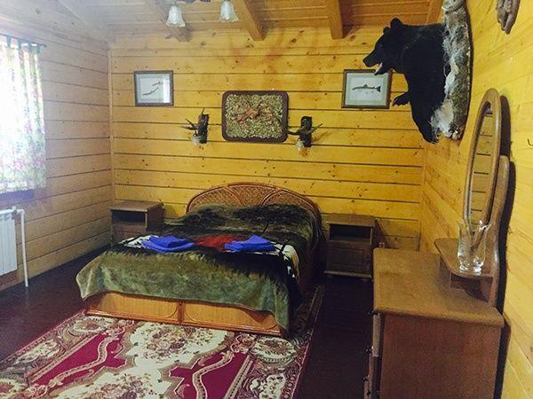 """Охотничье хозяйство """"Озерное"""" Калужская область Рубленый дом с баней, фото 1"""