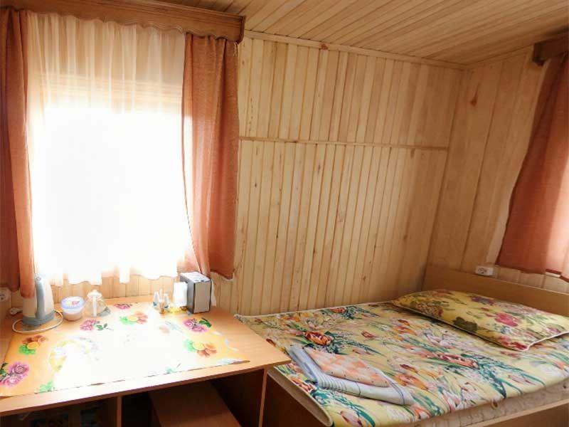 Турбаза «Комбат» Карачаево-Черкесская Республика Номер 2-местный в гостиничном срубе, фото 3