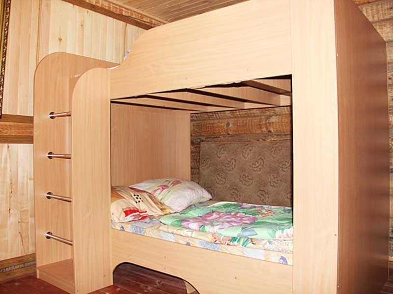 Турбаза «Комбат» Карачаево-Черкесская Республика Номер 4-местный в гостиничном срубе, фото 4