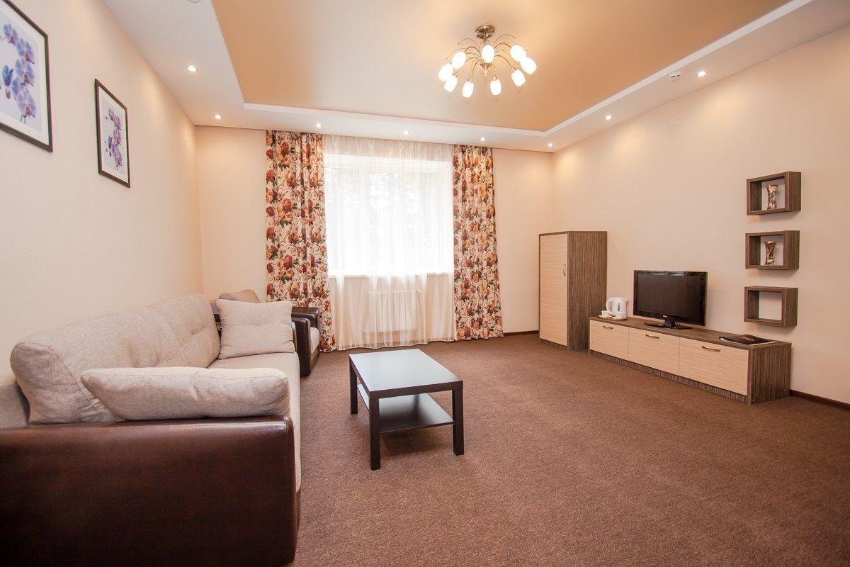 Парк-отель «Юность» Челябинская область 2-комнатный номер «Люкс», фото 3