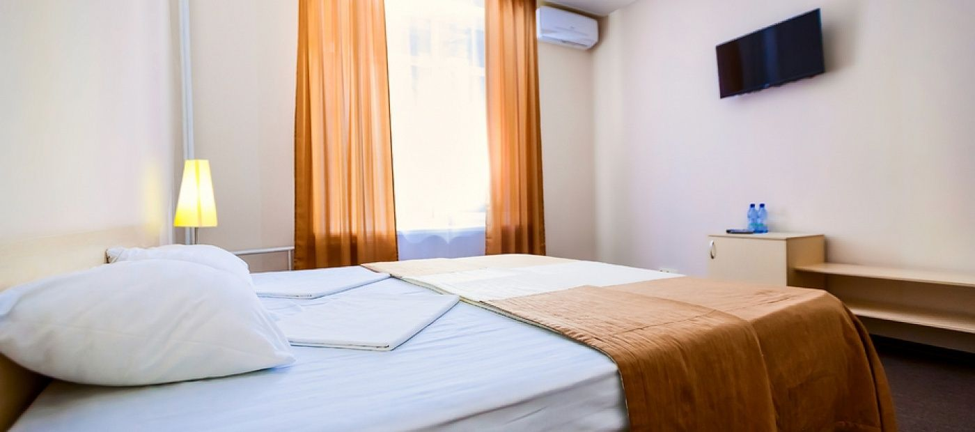 Гостиничный комплекс «CRONA Medical & SPA Hotel» Новосибирская область Евростандарт мини, фото 1