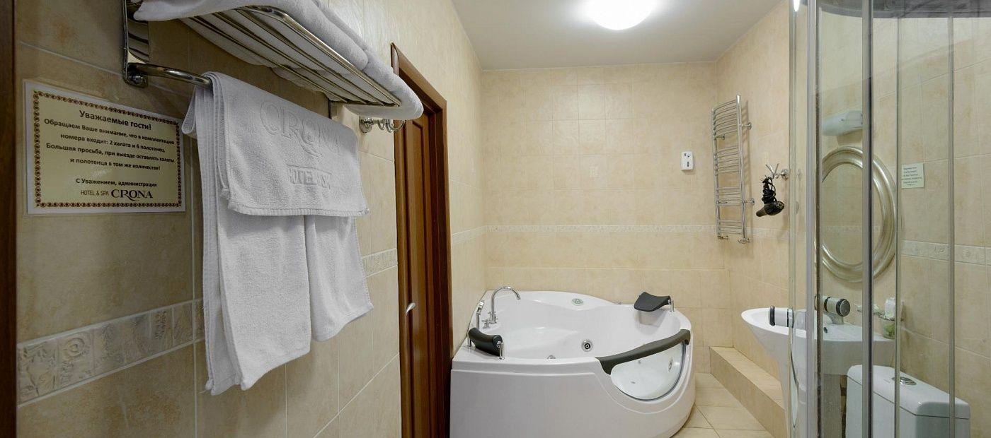 Гостиничный комплекс «CRONA Medical & SPA Hotel» Новосибирская область Люкс Министерский, фото 5