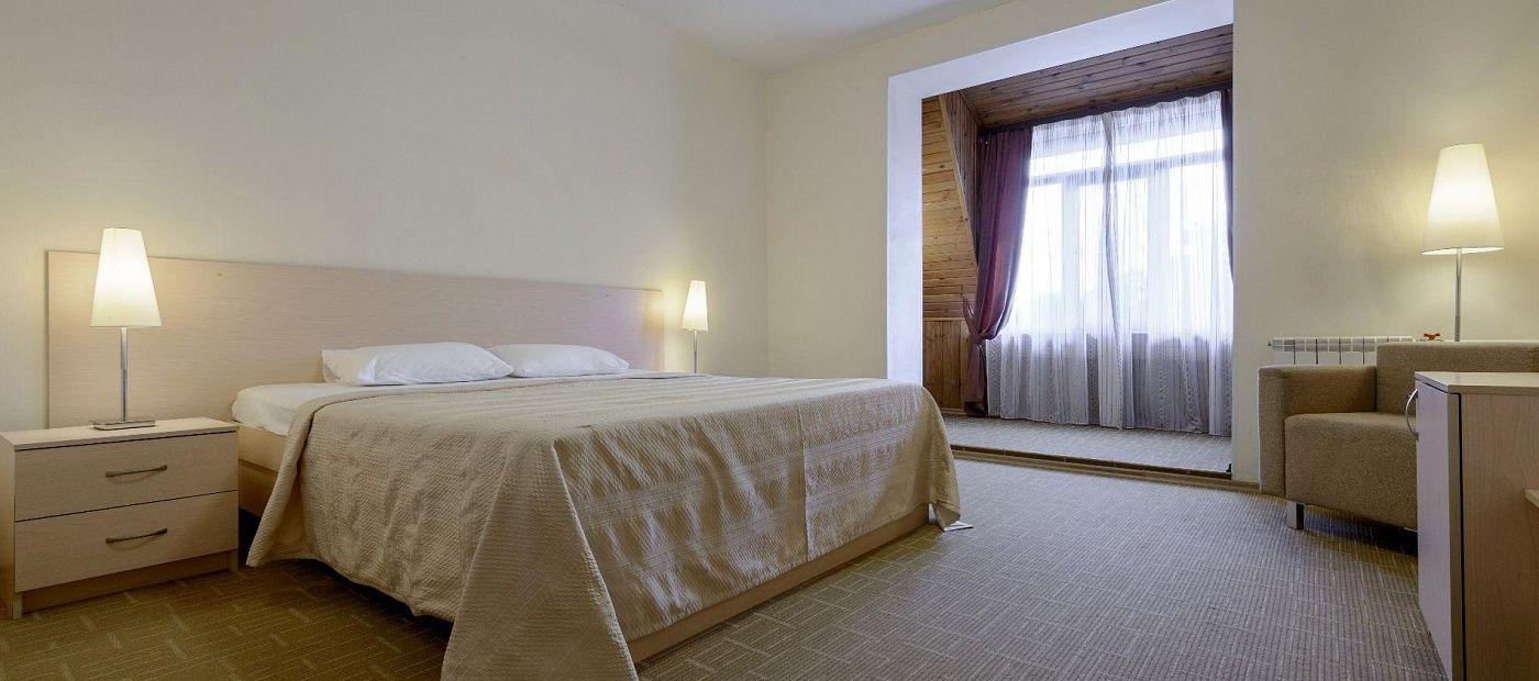 Гостиничный комплекс «CRONA Medical & SPA Hotel» Новосибирская область Евростандарт, фото 1