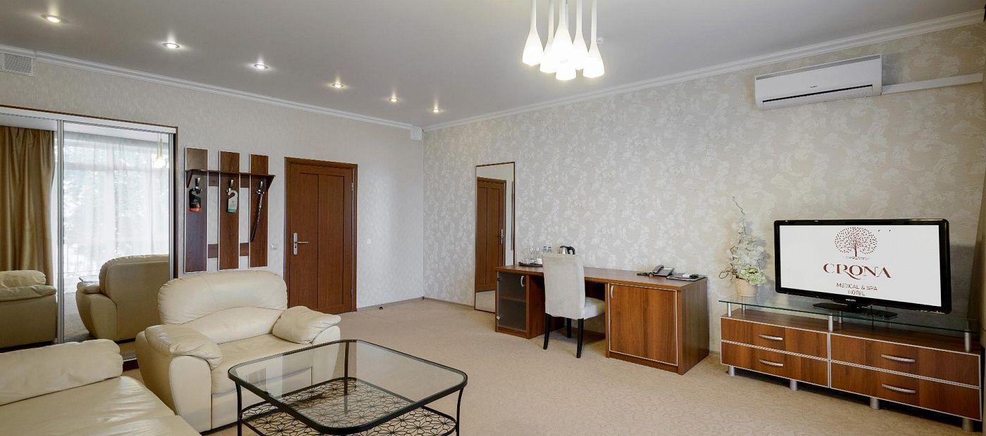 Гостиничный комплекс «CRONA Medical & SPA Hotel» Новосибирская область Люкс Министерский, фото 3