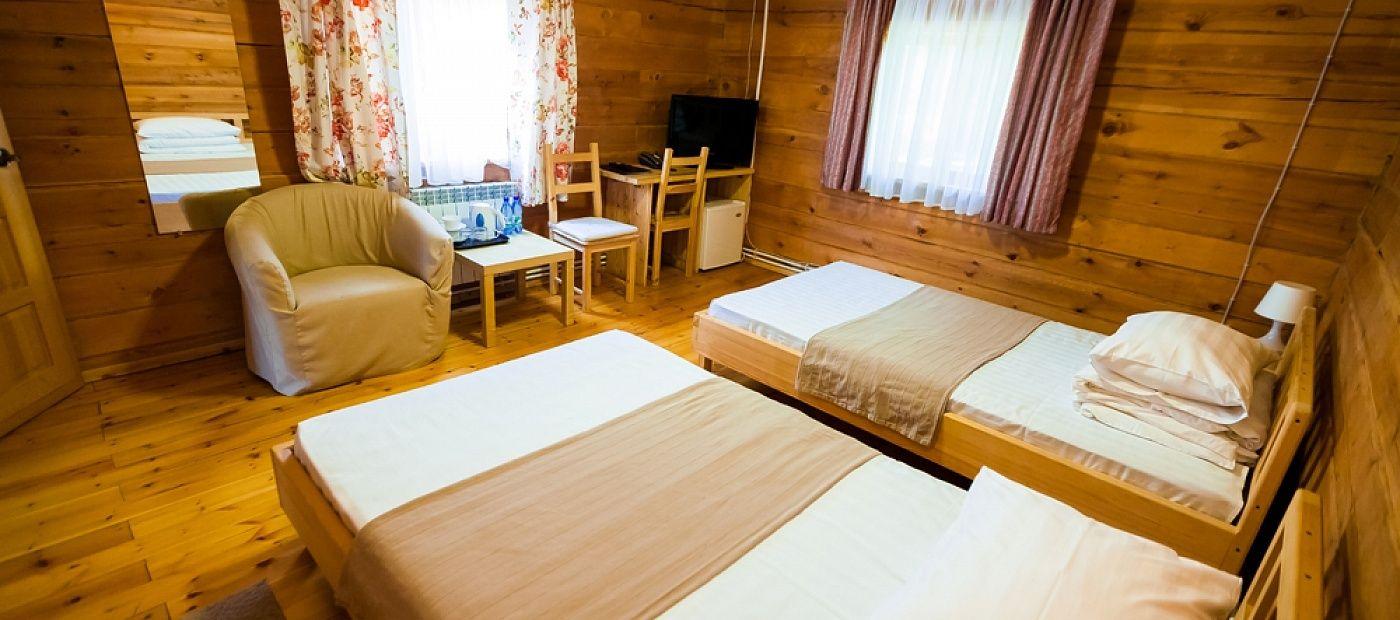 Гостиничный комплекс «CRONA Medical & SPA Hotel» Новосибирская область Евростандарт 2, фото 3
