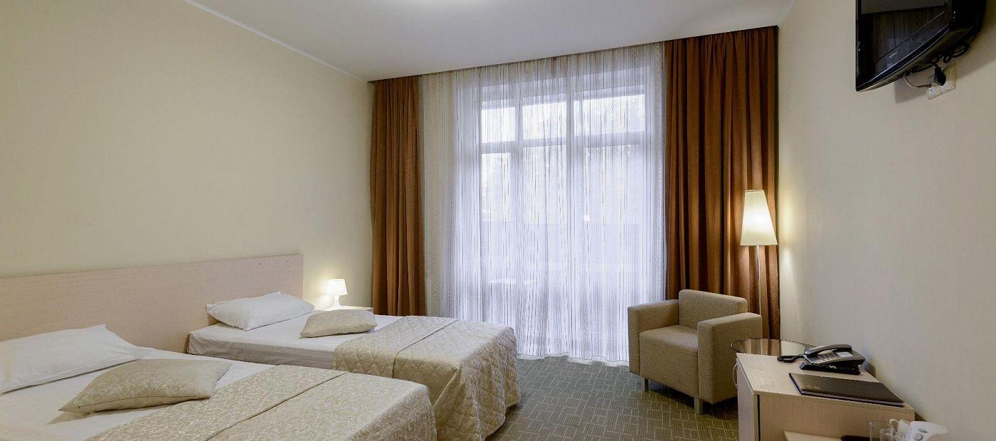 Гостиничный комплекс «CRONA Medical & SPA Hotel» Новосибирская область Евростандарт, фото 4