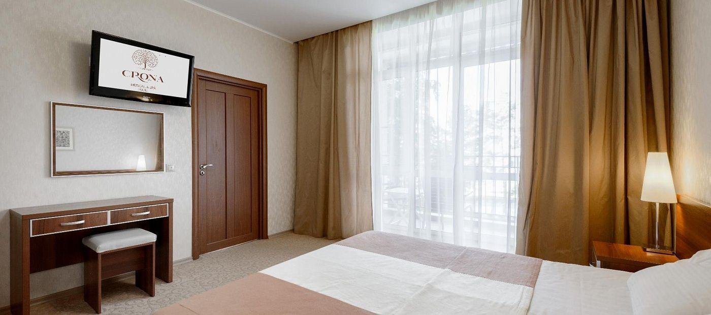 Гостиничный комплекс «CRONA Medical & SPA Hotel» Новосибирская область Люкс Министерский, фото 2