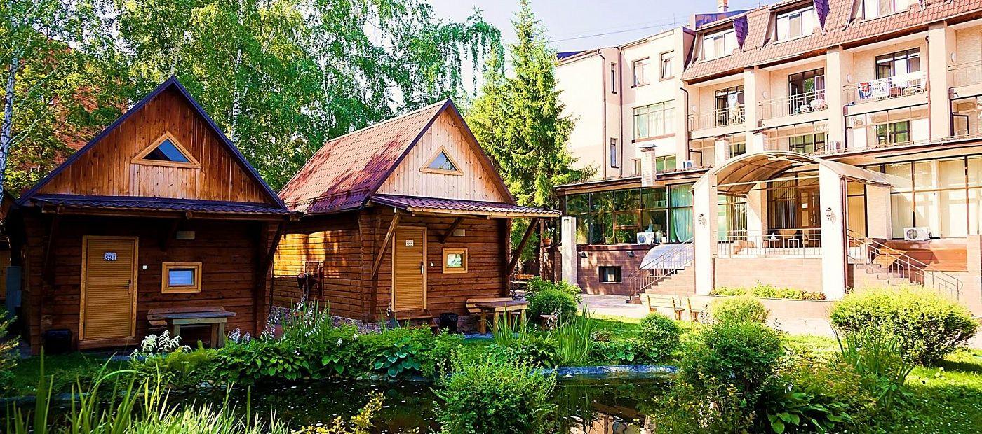 Гостиничный комплекс «CRONA Medical & SPA Hotel» Новосибирская область Евростандарт 4, фото 2