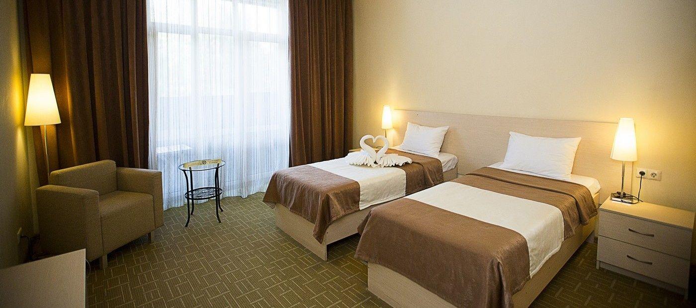 Гостиничный комплекс «CRONA Medical & SPA Hotel» Новосибирская область Евростандарт, фото 3