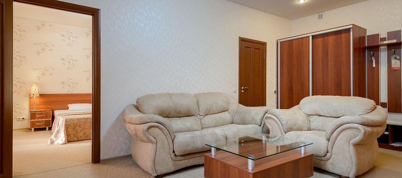 Гостиничный комплекс «CRONA Medical & SPA Hotel» Новосибирская область Люкс бизнес, фото 5