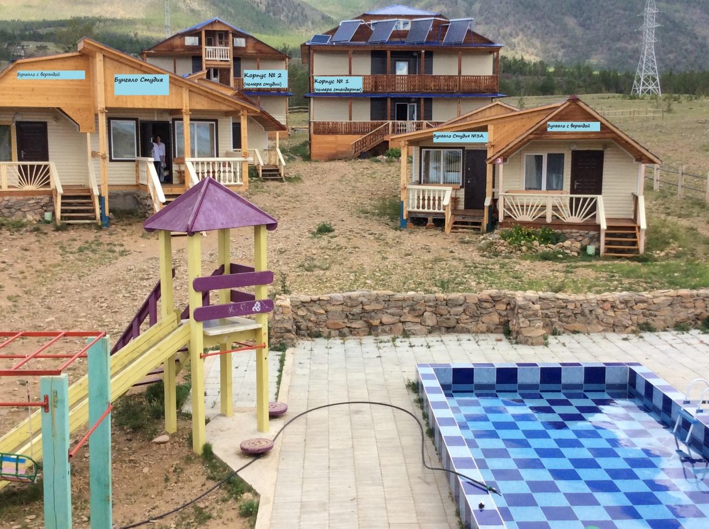 База отдыха «Уюга» Иркутская область Дом «Бунгало Студия» с верандой , фото 3