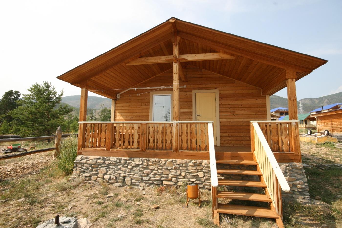 База отдыха «Уюга» Иркутская область Дом «Бунгало» 2-комнатный, фото 1