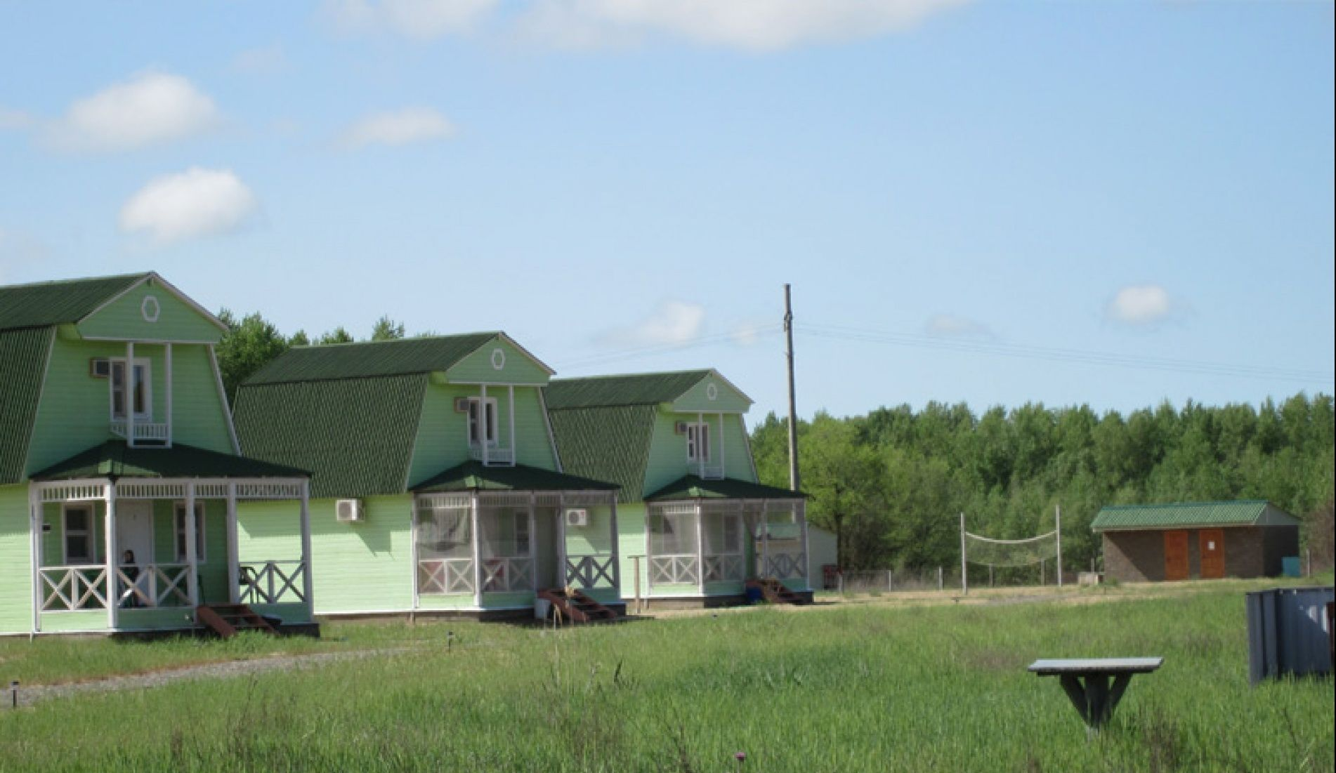 """База отдыха """"Песчаный берег"""" Астраханская область, фото 1"""