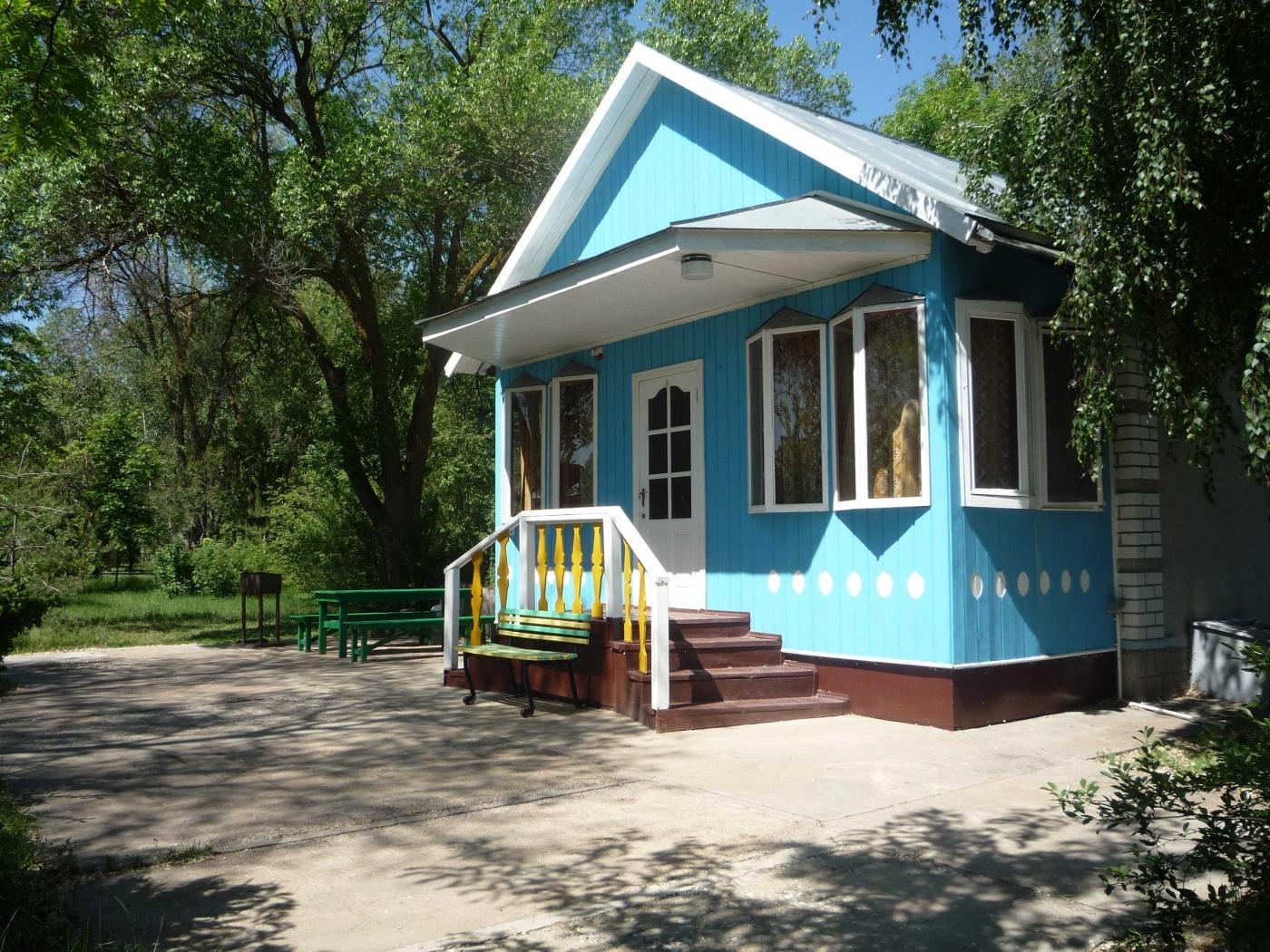 База отдыха «Парус» Астраханская область Домик № 11 («Емелин»), фото 2