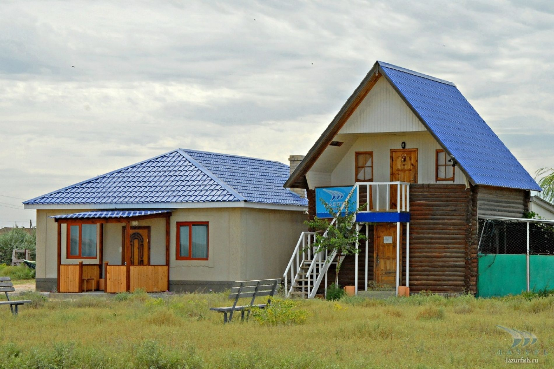 """База отдыха """"Лазурь"""" Астраханская область, фото 1"""