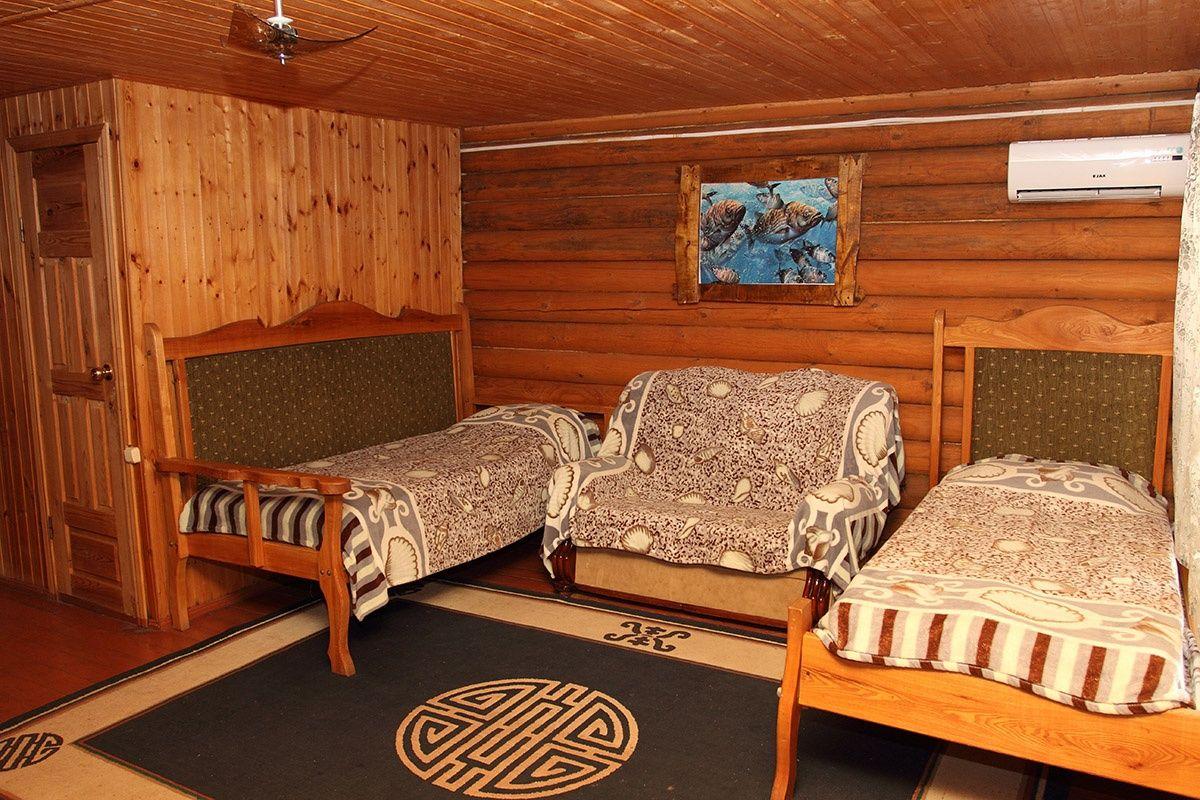 База отдыха «Гремучий» Астраханская область Домик 6-местный, фото 3