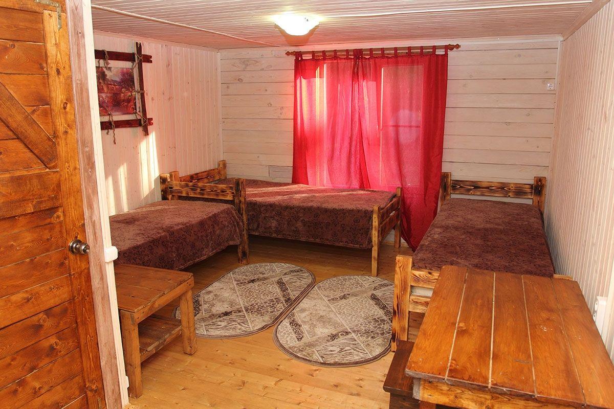 База отдыха «Гремучий» Астраханская область Номер 3-местный, фото 1