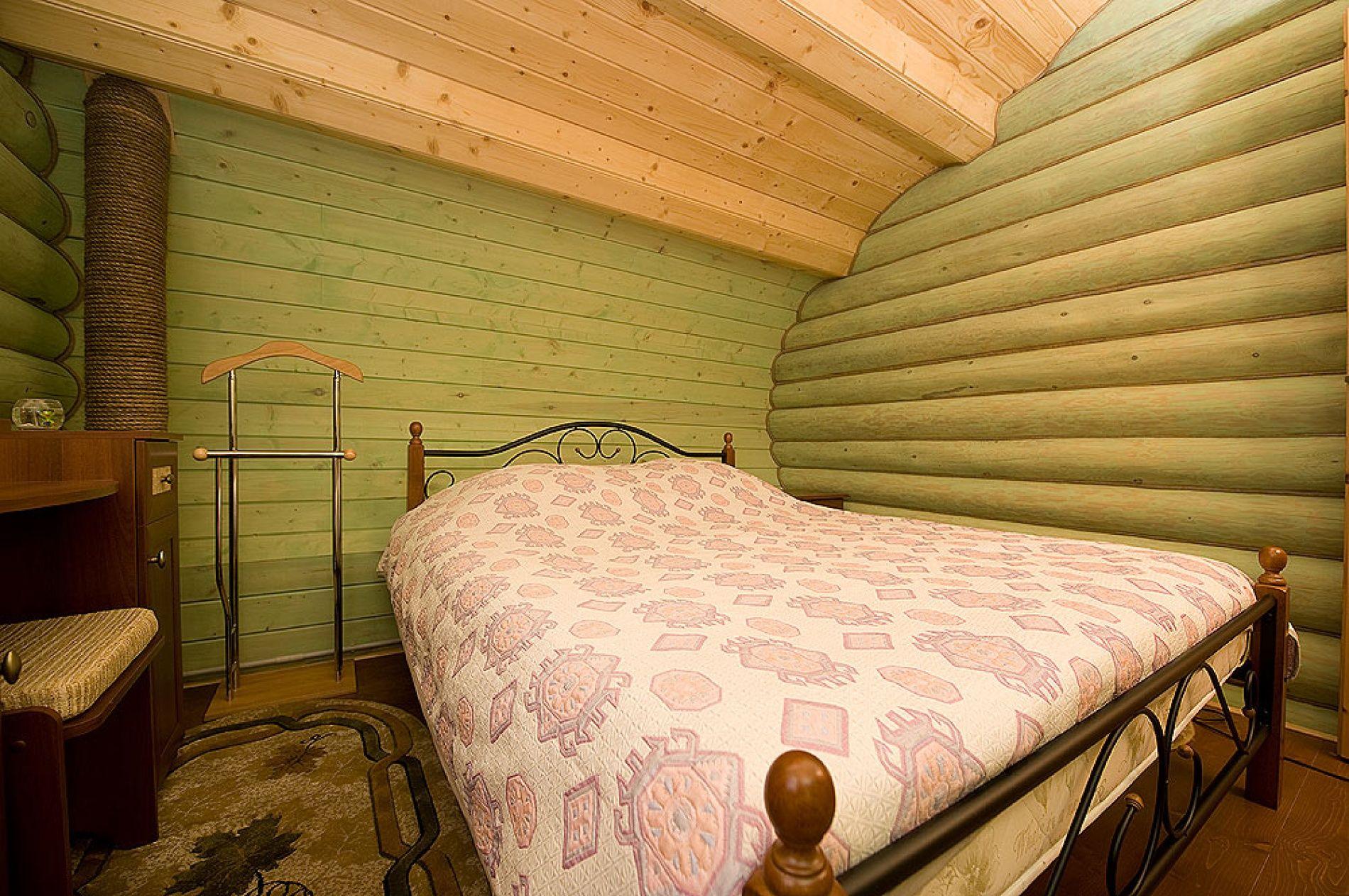 База отдыха «Зеленый Берег» Мурманская область Мятный домик 4-местный , фото 3