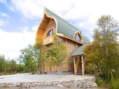 База отдыха «Зеленый Берег» Мурманская область Сапфировый домик 4-местный, фото 1