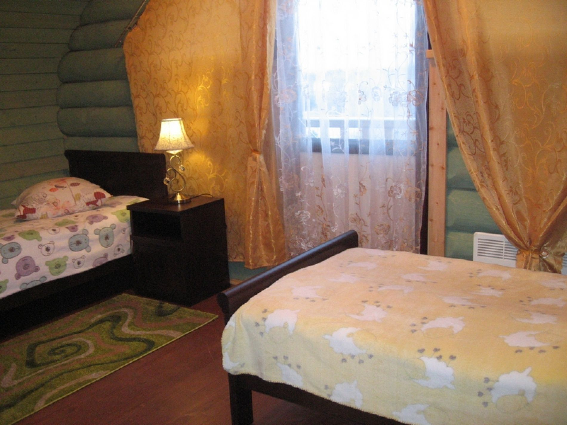 База отдыха «Зеленый Берег» Мурманская область Оливковый домик 4-местный, фото 3