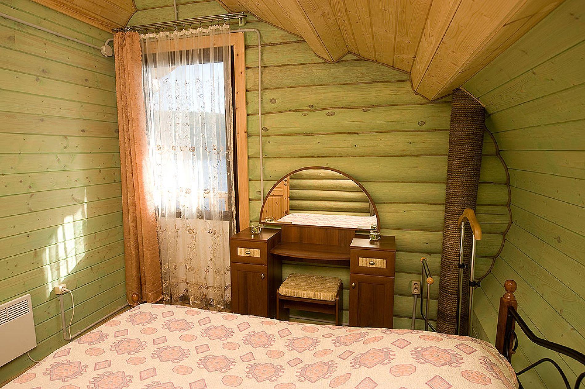 База отдыха «Зеленый Берег» Мурманская область Мятный домик 4-местный , фото 5
