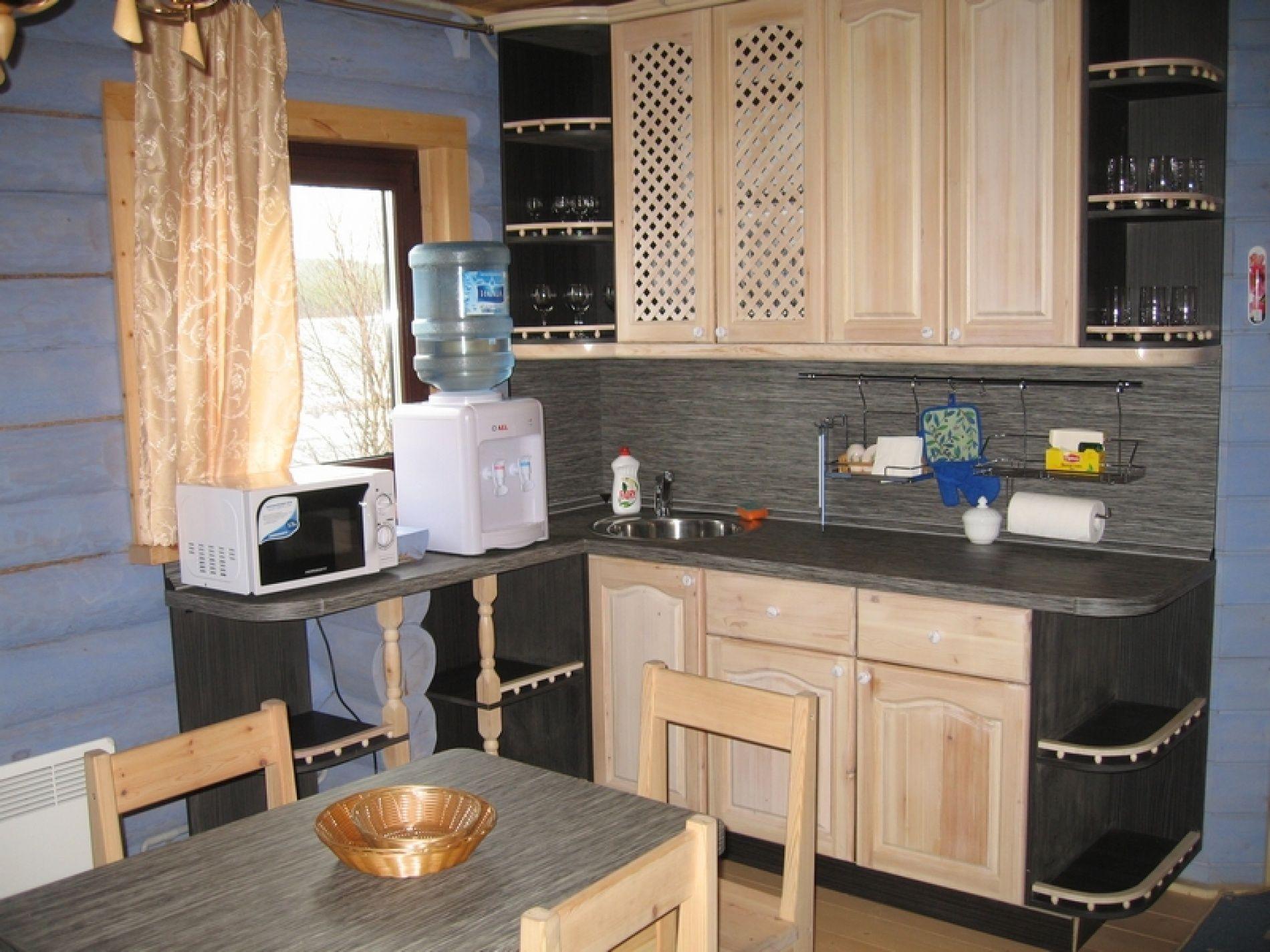 База отдыха «Зеленый Берег» Мурманская область Сапфировый домик 4-местный, фото 7