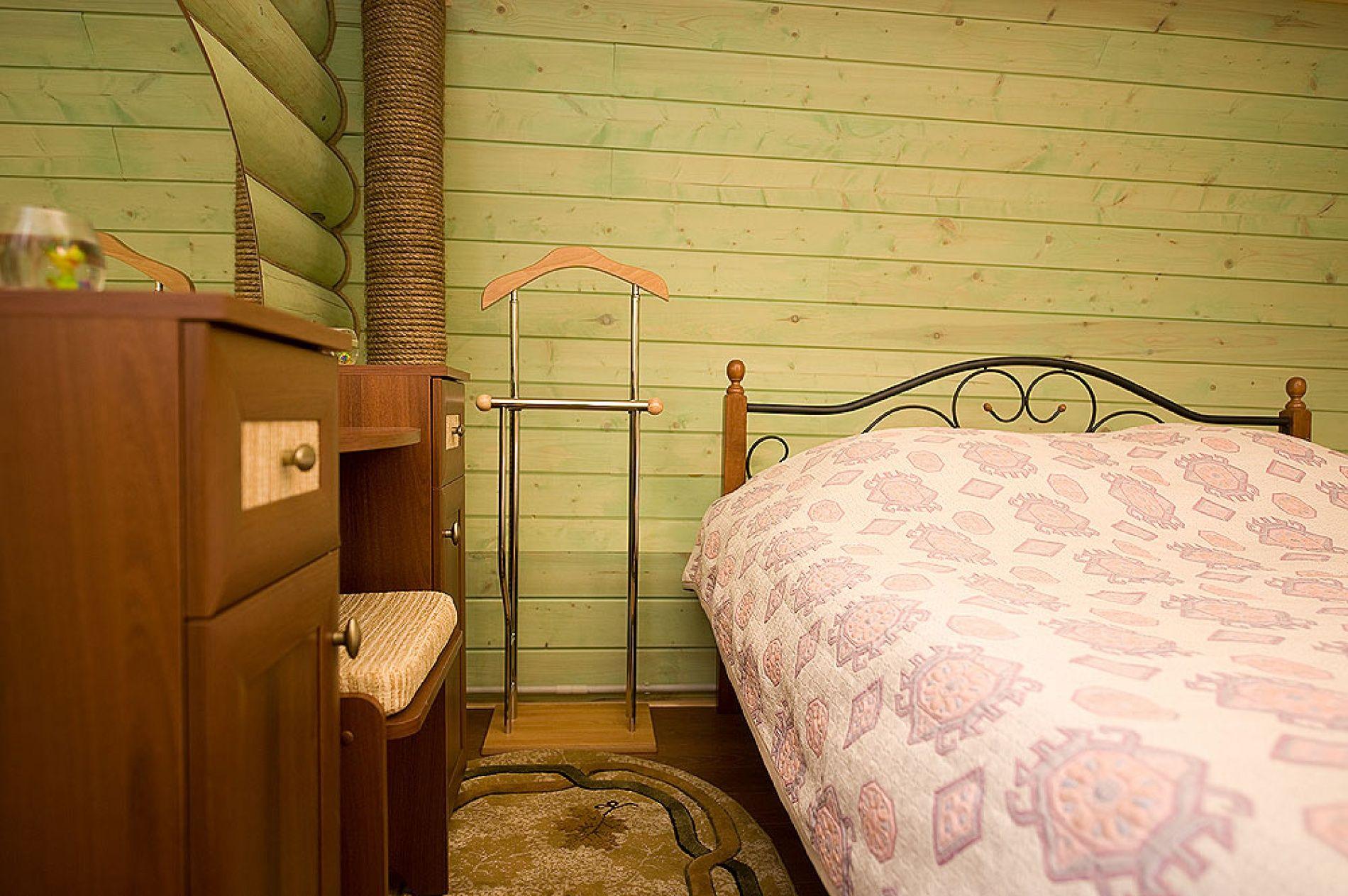 База отдыха «Зеленый Берег» Мурманская область Мятный домик 4-местный , фото 4