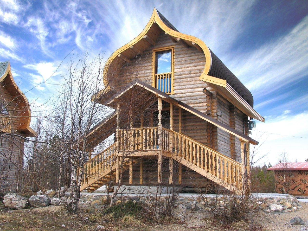 База отдыха «Зеленый Берег» Мурманская область Мятный домик 4-местный , фото 1
