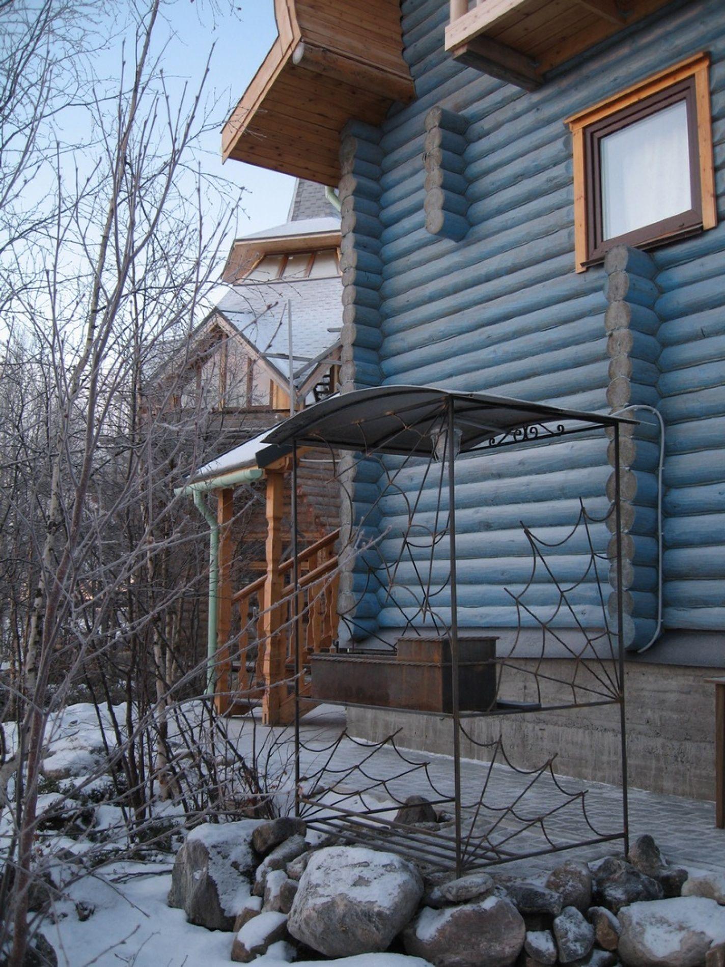 База отдыха «Зеленый Берег» Мурманская область Сапфировый домик 4-местный, фото 2