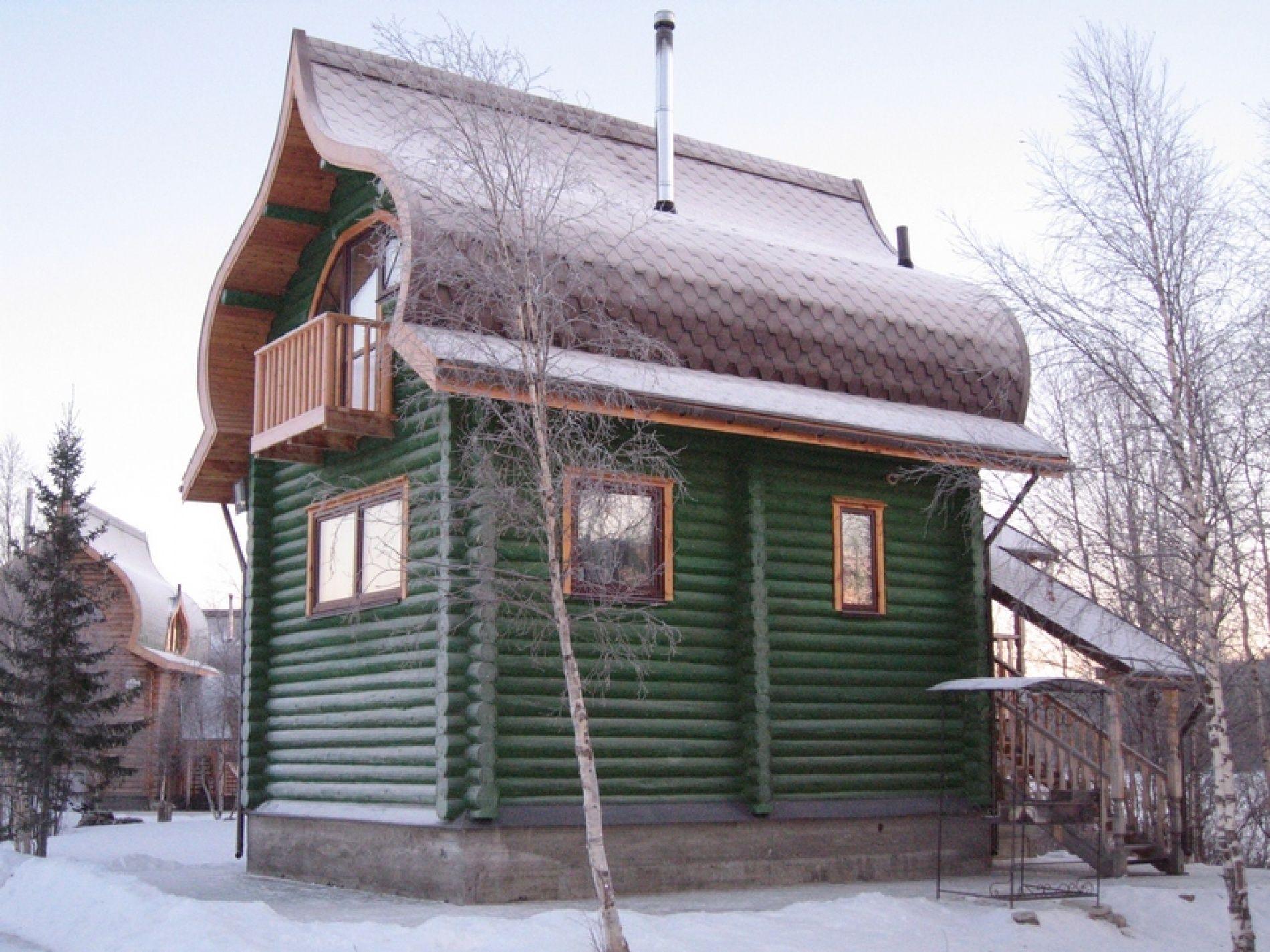 База отдыха «Зеленый Берег» Мурманская область Оливковый домик 4-местный, фото 1