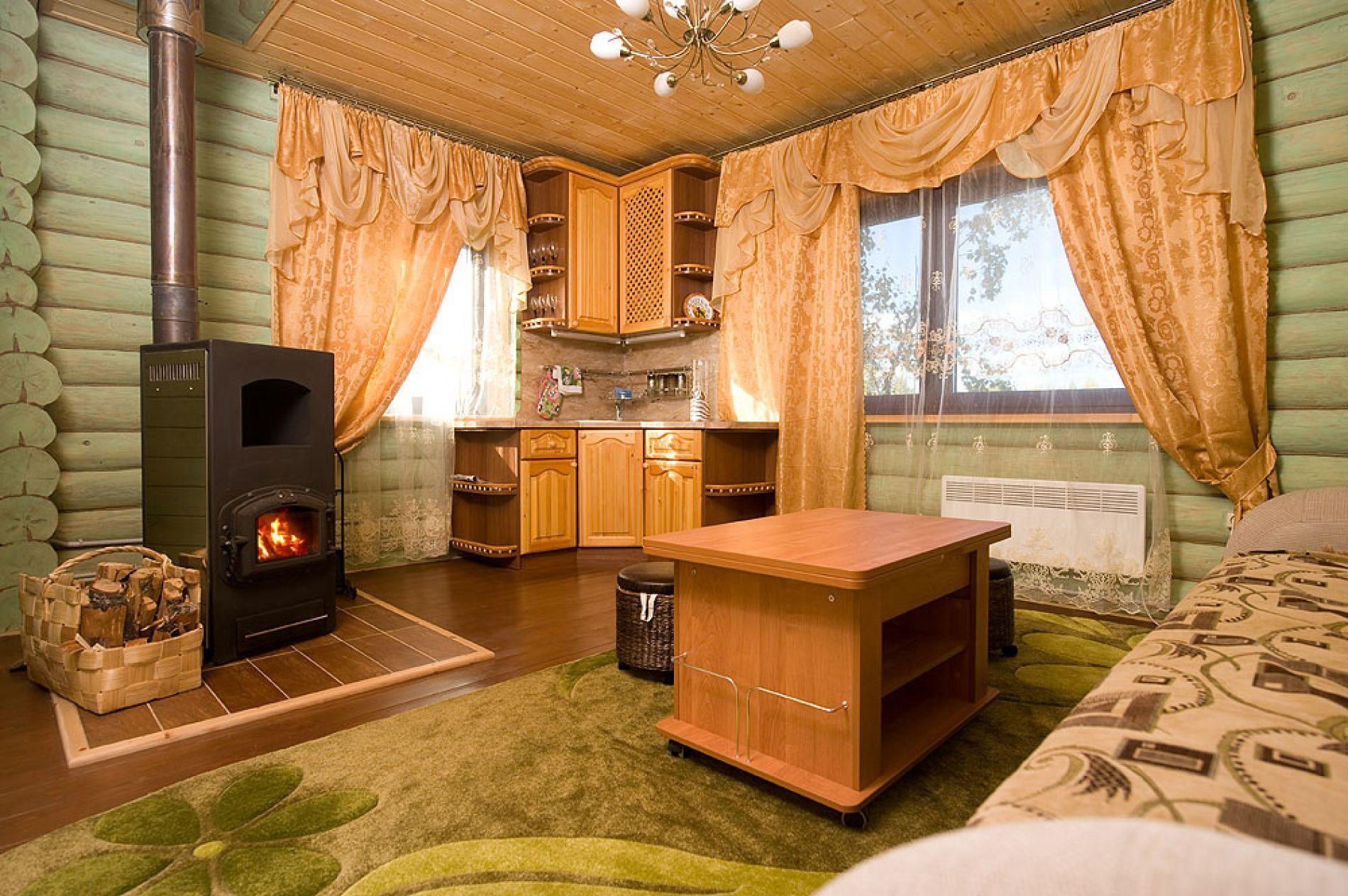 База отдыха «Зеленый Берег» Мурманская область Мятный домик 4-местный , фото 7