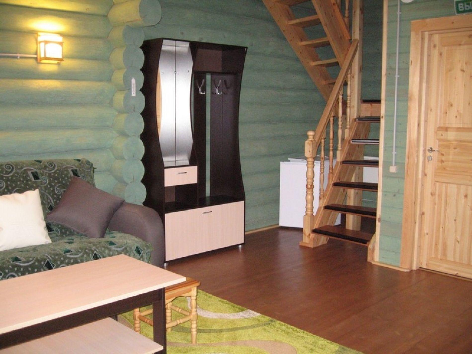База отдыха «Зеленый Берег» Мурманская область Оливковый домик 4-местный, фото 4