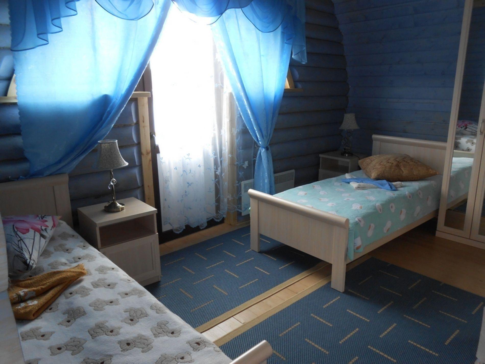 База отдыха «Зеленый Берег» Мурманская область Сапфировый домик 4-местный, фото 4