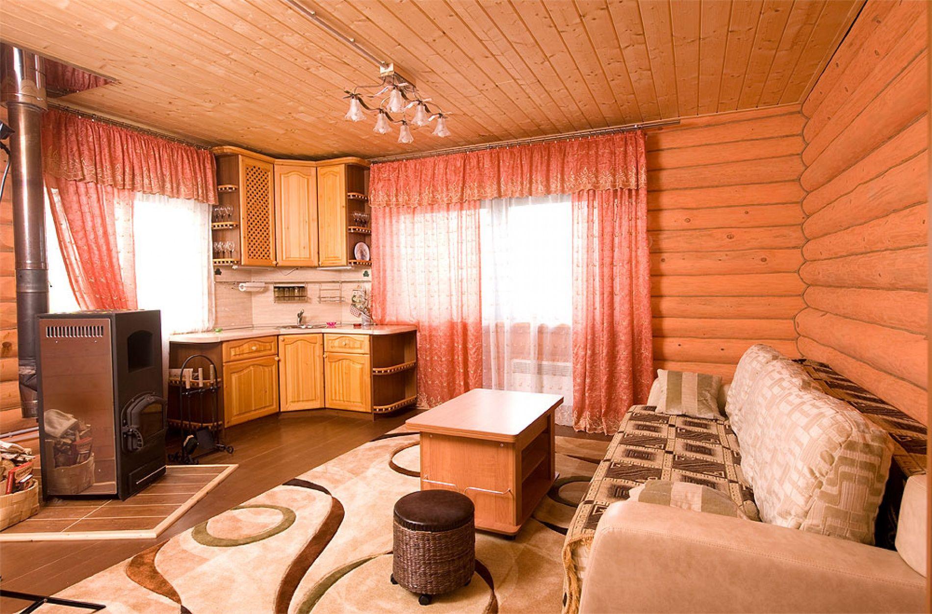 База отдыха «Зеленый Берег» Мурманская область Персиковый домик 4-местный , фото 7