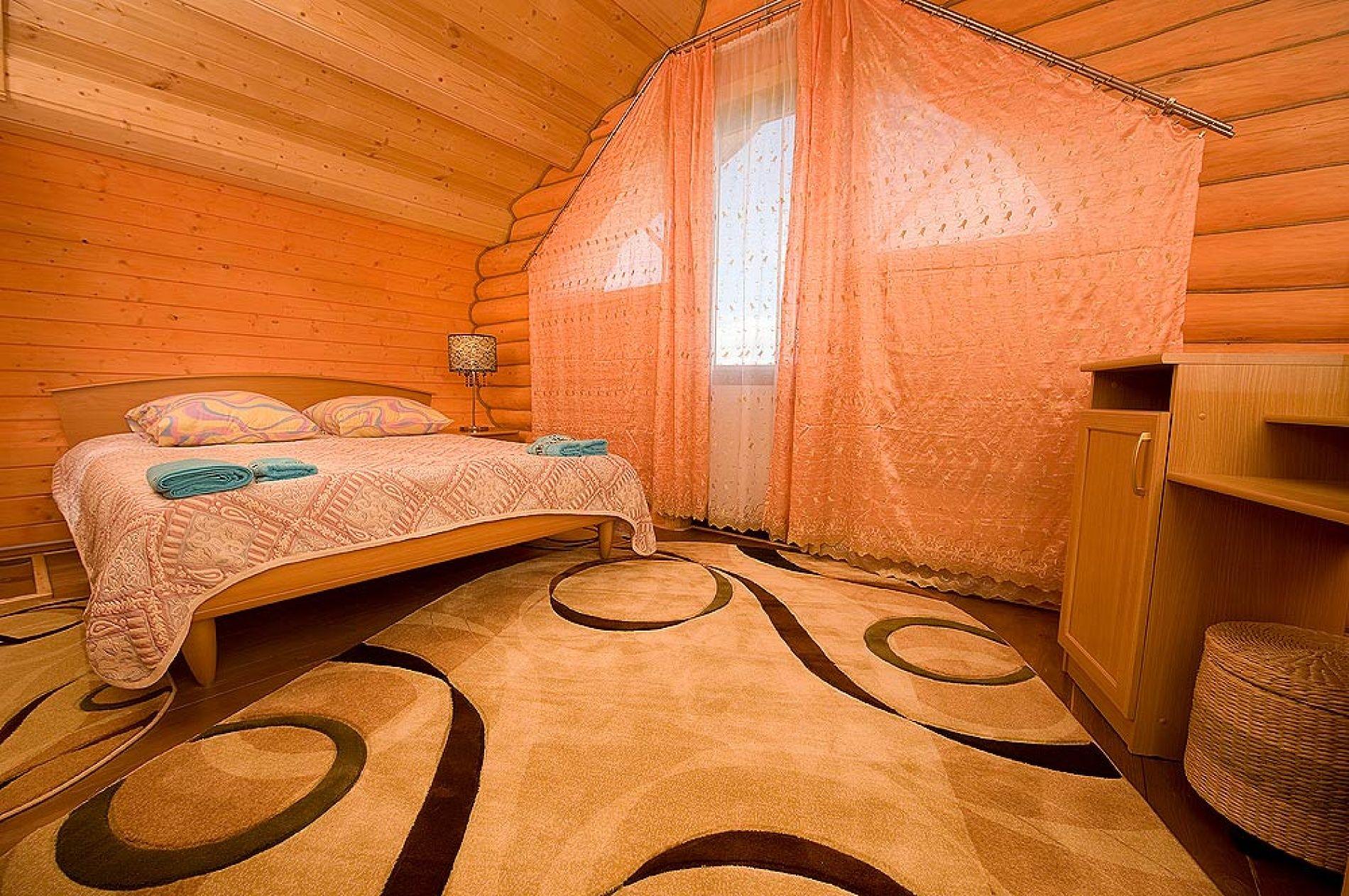 База отдыха «Зеленый Берег» Мурманская область Персиковый домик 4-местный , фото 3