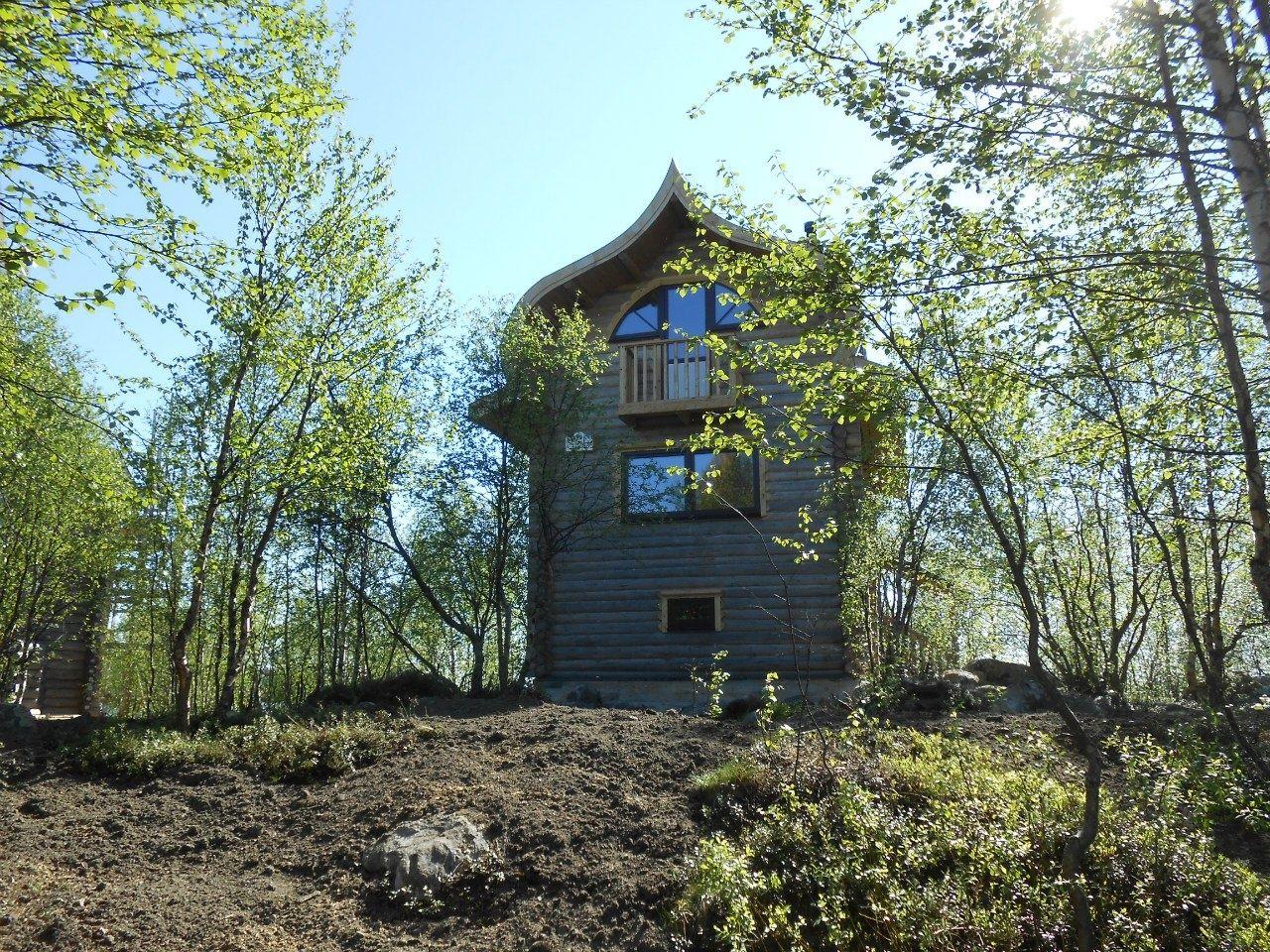 База отдыха «Зеленый Берег» Мурманская область Банановый домик 4-местный, фото 1