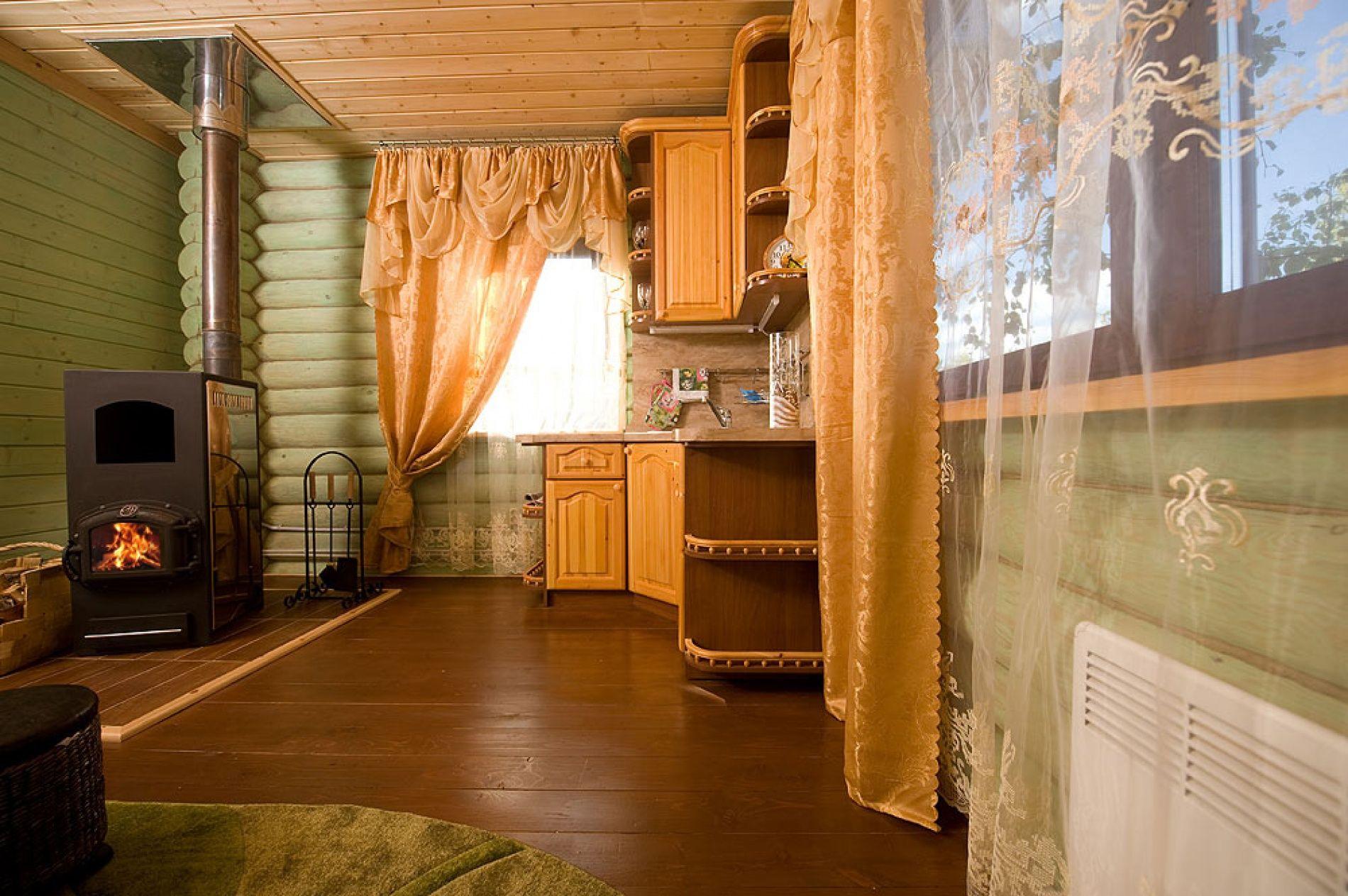 База отдыха «Зеленый Берег» Мурманская область Мятный домик 4-местный , фото 8