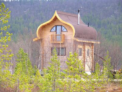 База отдыха «Зеленый Берег» Мурманская область Персиковый домик 4-местный , фото 1