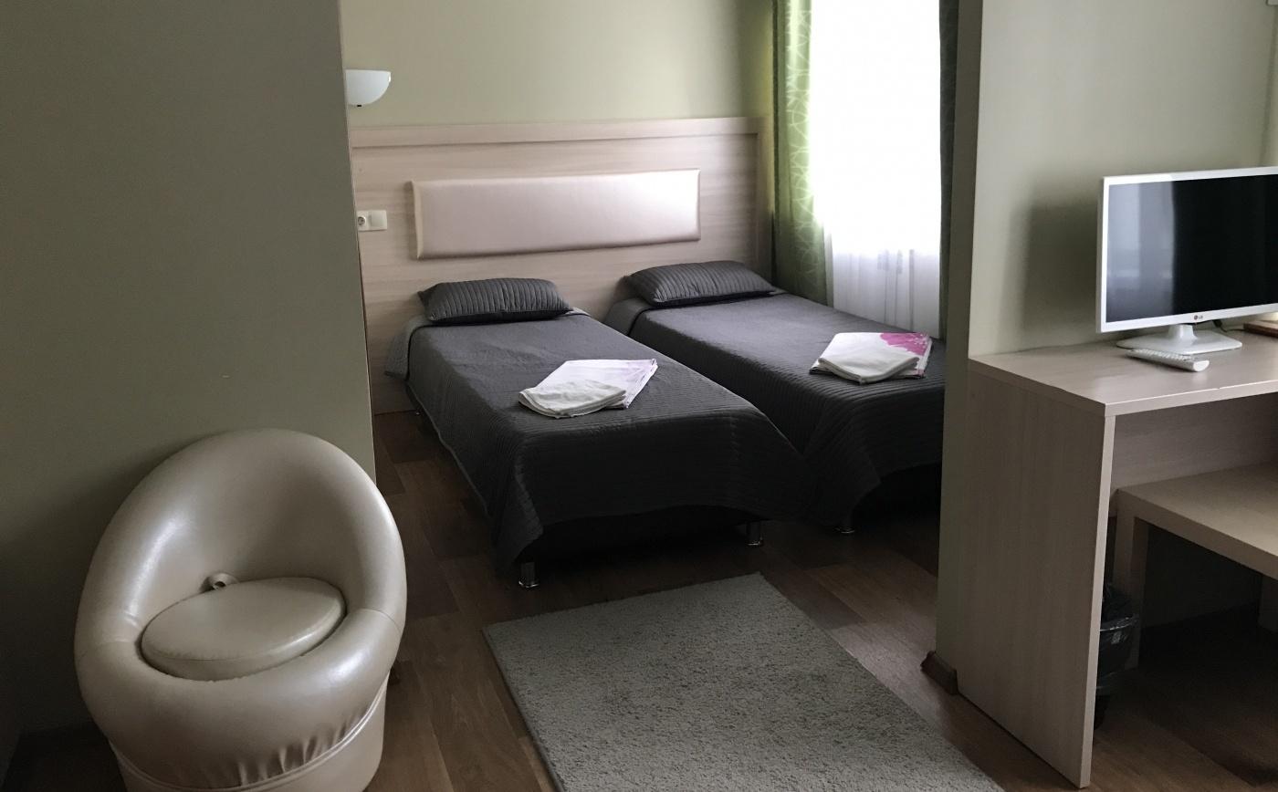 Турбаза «Тихая гавань» Самарская область Номер «Люкс» в мини-отеле «Фрегат», фото 2