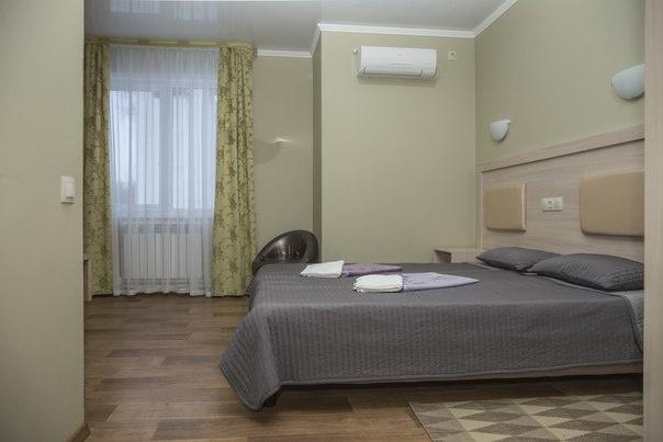 Турбаза «Тихая гавань» Самарская область Номер «Эконом» в мини-отеле «Фрегат», фото 1