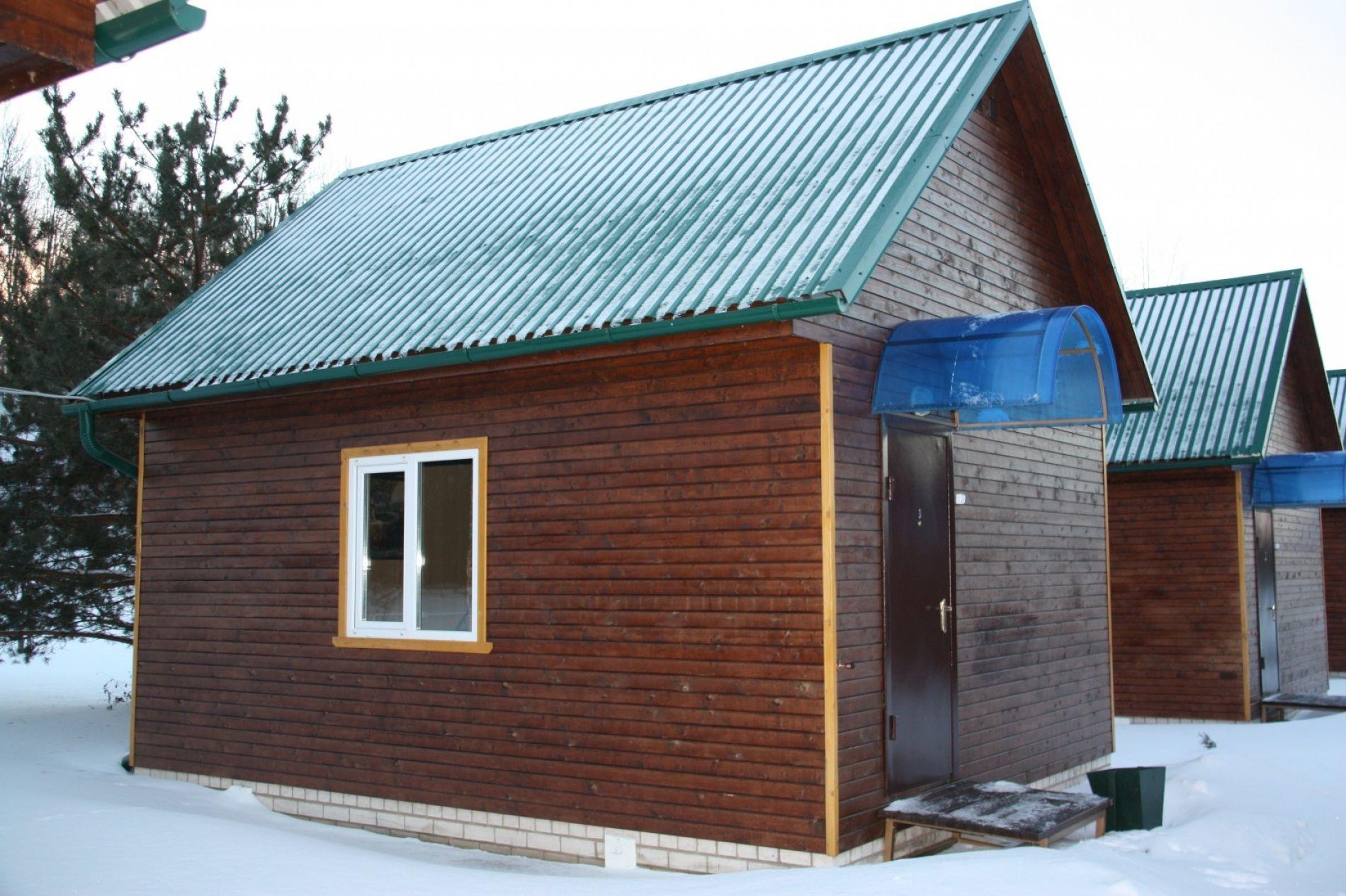 Туристический комплекс «Ботик» Ярославская область 4-местный домик «Рыбацкий двор», фото 1