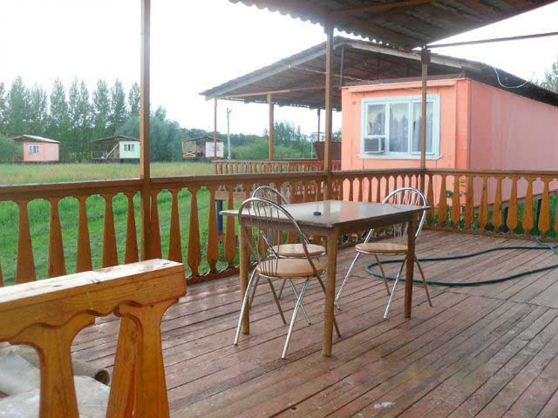 Турбаза «Жемчуг» Саратовская область 4-местный дом, фото 9