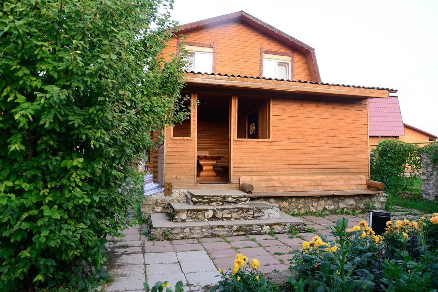 Туристическая деревня «Плетёнка» Тульская область Коттедж «Изба купеческая» (№ 2), фото 1