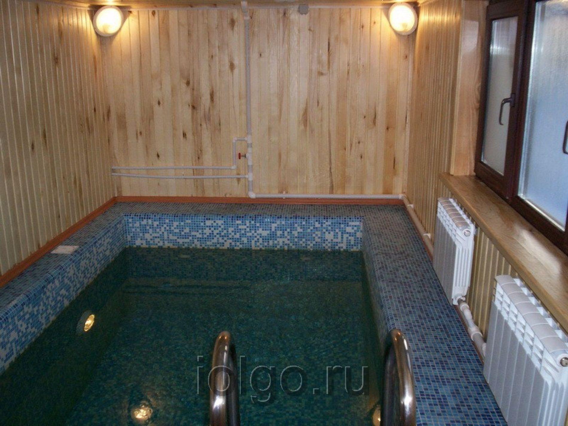 Сауна бассейн своими руками фото