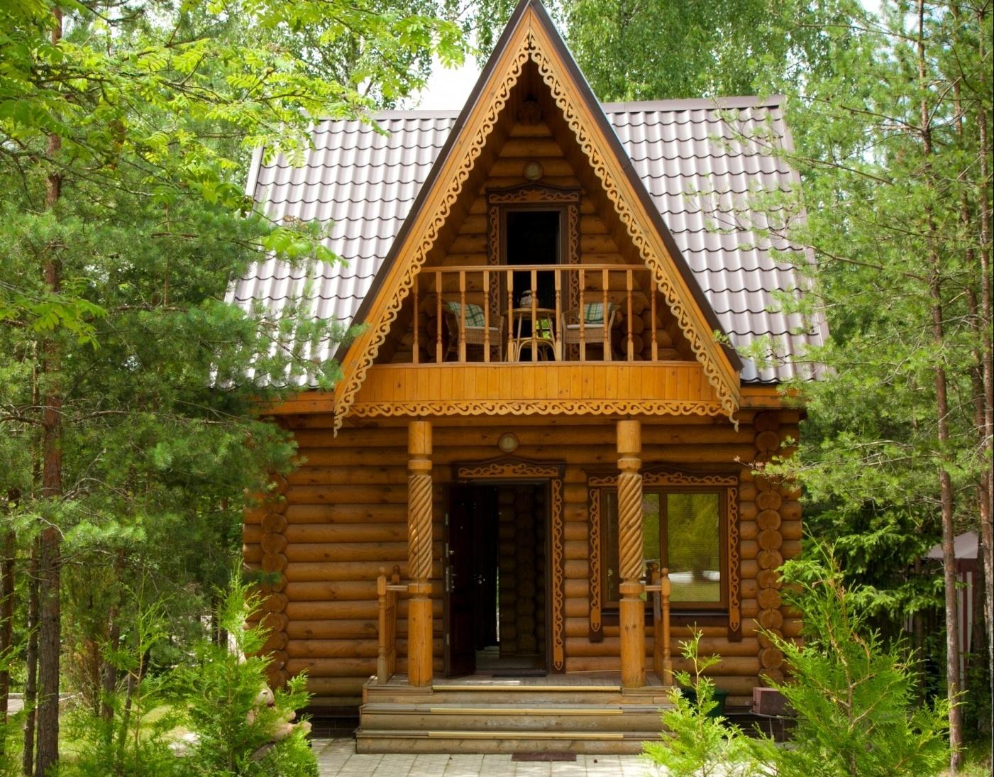 База отдыха «Лесные пруды» Московская область Двухэтажный 2-местный коттедж VIP, фото 1